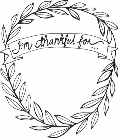 Download Thankful Coloring Pages Pdf