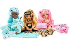 Пижамная вечеринка Rainbow High Slumber Party: три новых куклы