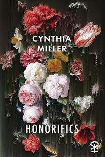 Honorifics book cover - painting of flowers in the style of Dutch Masters but smeared