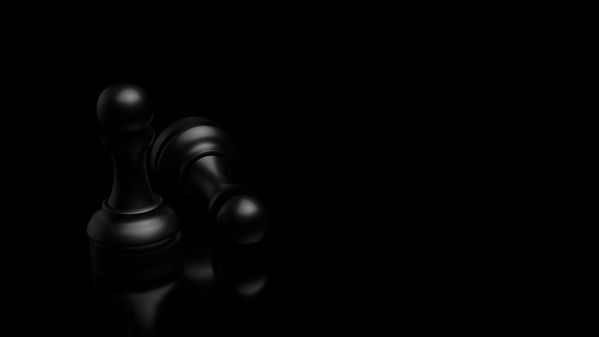 Black wallpaper chase background