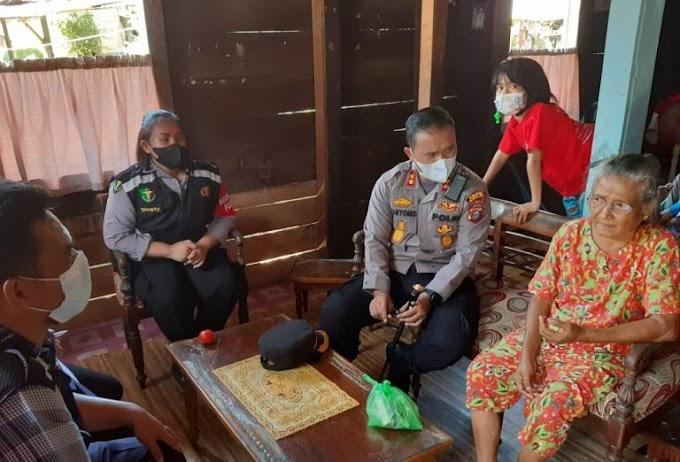 "AKBP Taryono: Giat Vaksinasi door to door, ""Cinta Lansia"""