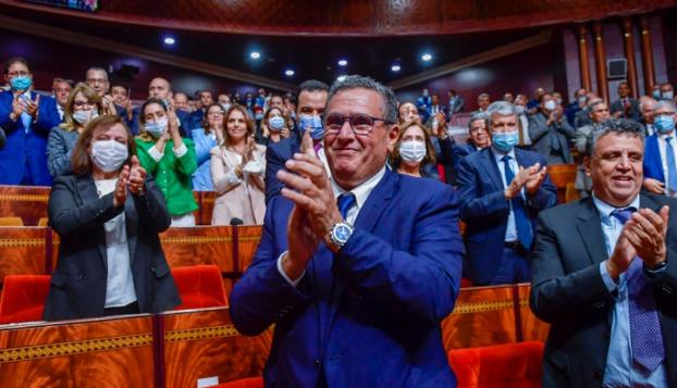 حكومة أخنوش تحظى بثقة البرلمان