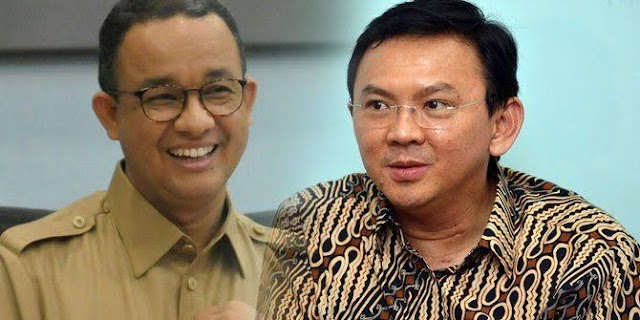 Warganet Cantik : Fakta! Ahok Bikin Banyak Warga Jakarta Menangis, Anies Bikin Banyak Warga Tersenyum