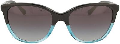 2 Color Armani Cat Eye Sunglasses