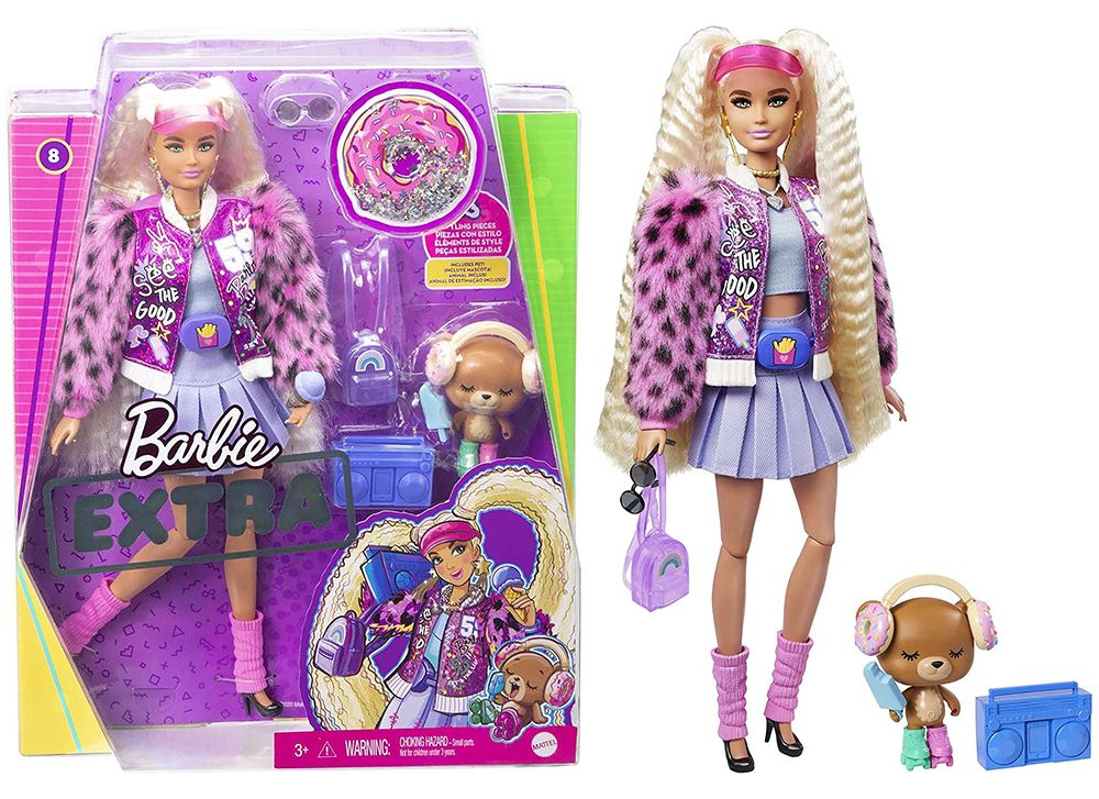 Кукла Barbie Extra #8