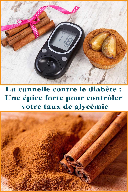 La cannelle contre le diabète : Une épice forte pour contrôler votre taux de glycémie