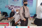 Jamin Keamanan Masyarakat, Petugas Lakukan Pengamanan di Bank BRI Cabang Pangkep