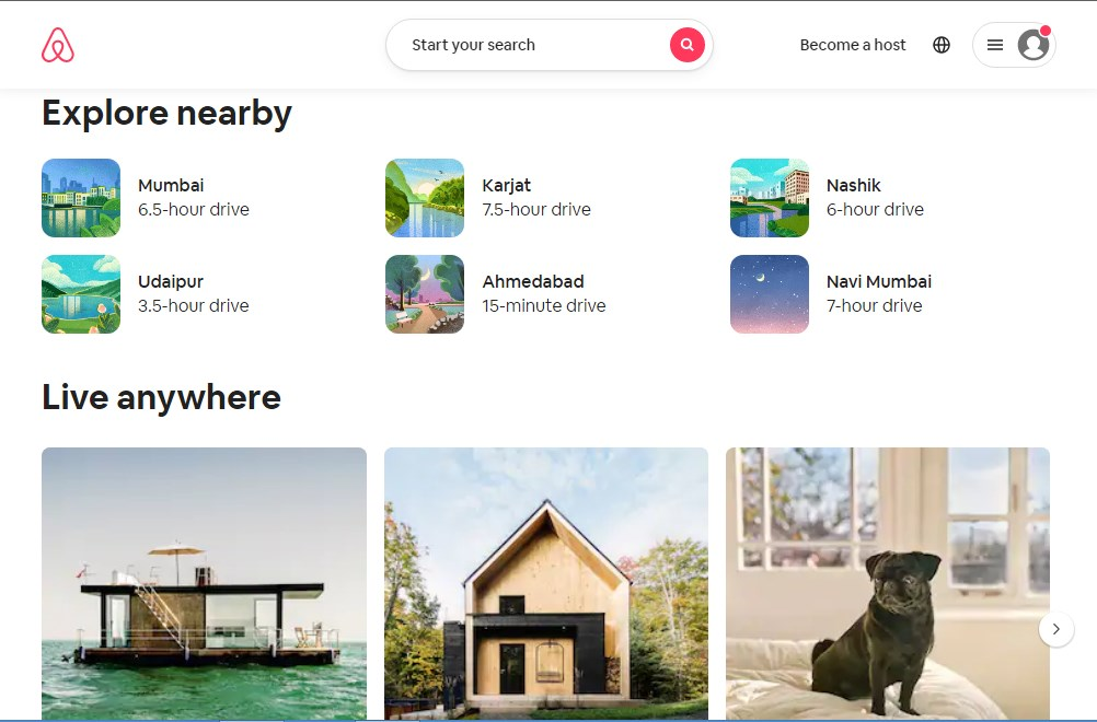 Airbnb - Best 10 Hotel Booking App In India 2021 - Techmexo.com
