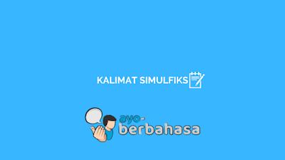 kalimat simulfiks