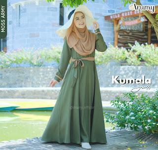 Koleksi Gamis Syar'i Terbaru Kumala Dress by Arumy