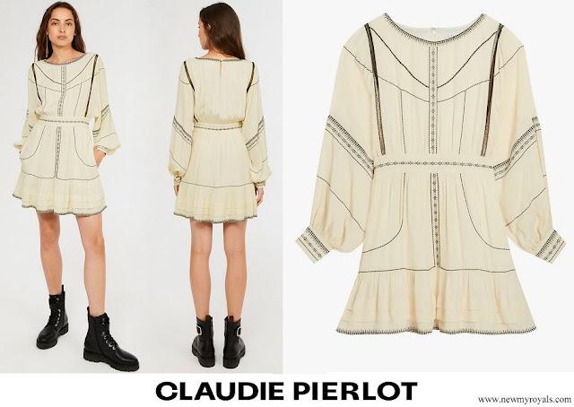 Infanta Sofia wore CLAUDIE PIERLOT Eco friendly viscose dress