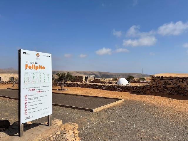 En Fuerteventura reabren  el  sábado  23 de Octubre el parque-merendero 'Casas de Felipito'