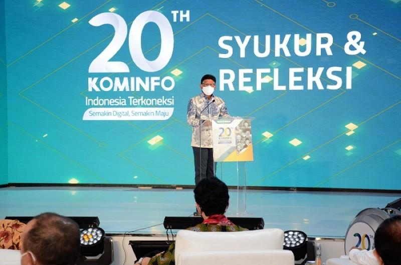 Kawal Transformasi secara Progresif dan Visioner, Menteri Johnny Apresiasi 5 Mantan Menteri Kominfo