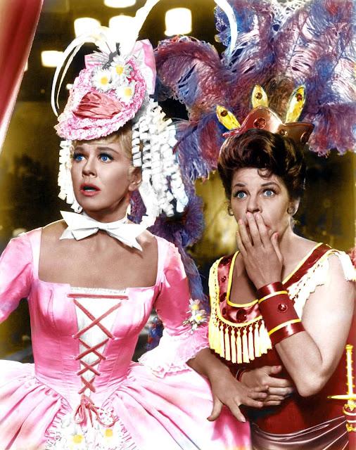 1962. Doris Day, Martha Raye - Billy rose´s Jumbo