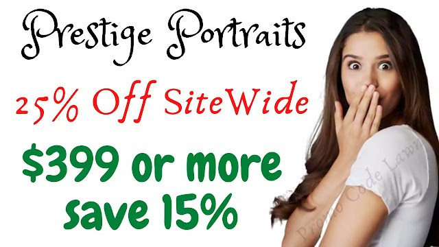 Prestige Portraits Coupon - 30% Off w/2022 Promo Code
