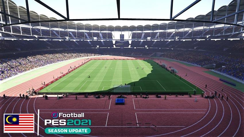 Stadium Bukit Jalil For eFootball PES 2021
