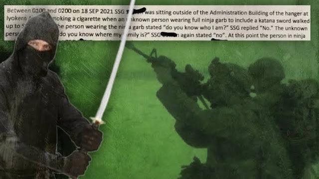 Pasukan Khusus AS Diserang Pria Berbaju Ninja, Ditebas Pedang dan Dipukul hingga KO