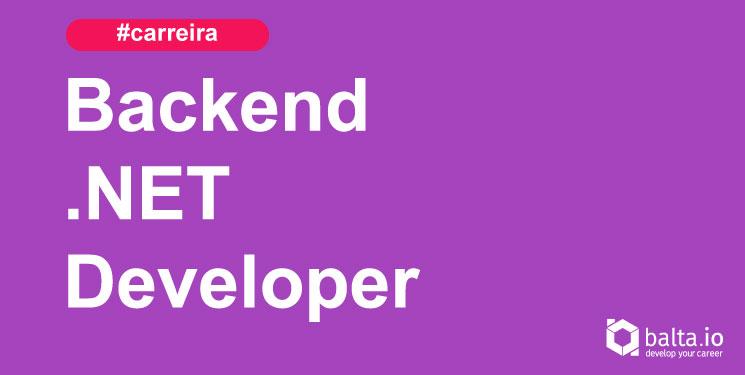 Carreira Desenvolvedor Backend .NET Download Grátis