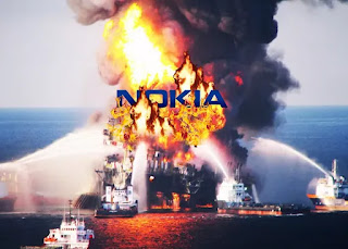Nokia المنصة المحترقة