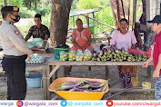 Personel Pam Obvit Sat Samapta Polres Pangkep Kembali Melaksanakan Patroli Dialogis