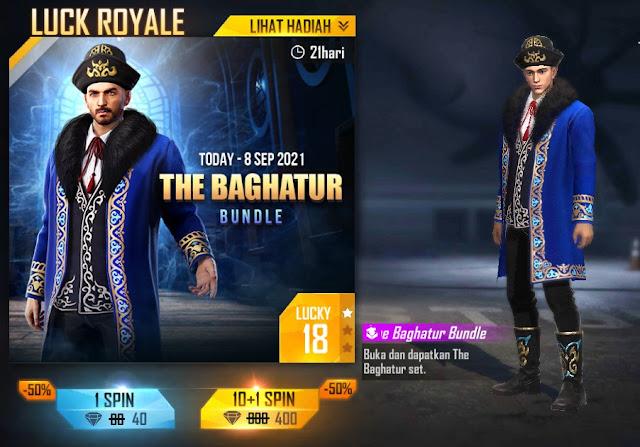The Baghatur Bundle Diamond Royale