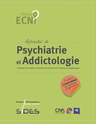 ECN Référentiel de psychiatrie et addictologie 3e édition