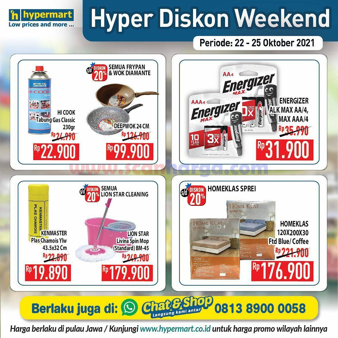 Promo Hypermart Weekend Terbaru 22 - 25 Oktober 2021 10
