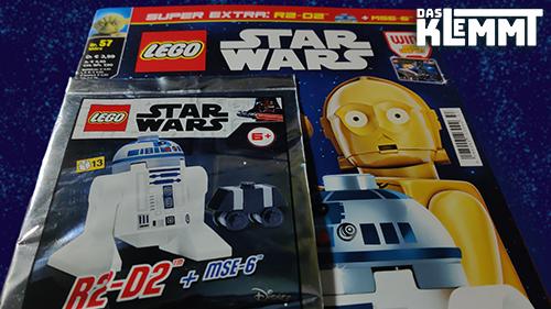 Magazin LEGO® Star Wars Nr. 57 mit Foil-Pack