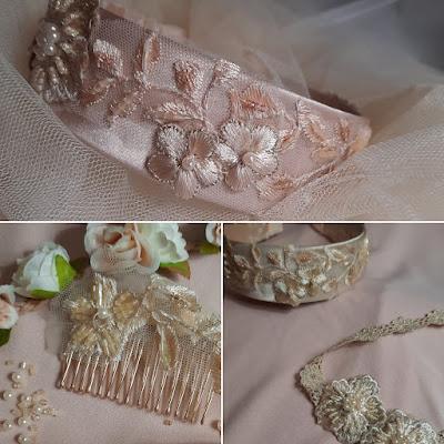 bijoux de tête mariage D'Ors et de Soie