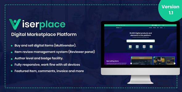ViserPlace v1.1 - Digital Marketplace Platform Nulled - SheriyarTech