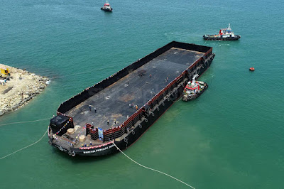 Info Biaya Sewa Kapal Tongkang di Palu, Sulawesi Tengah