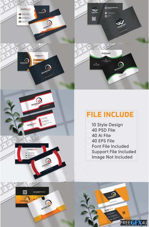 Creative Business Card Design Bundle