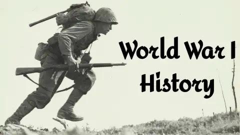 विश्व युद्ध का इतिहास   World War I History In Hindi