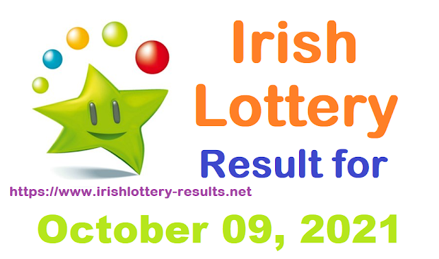 Irish lottery results for October 09, 2021