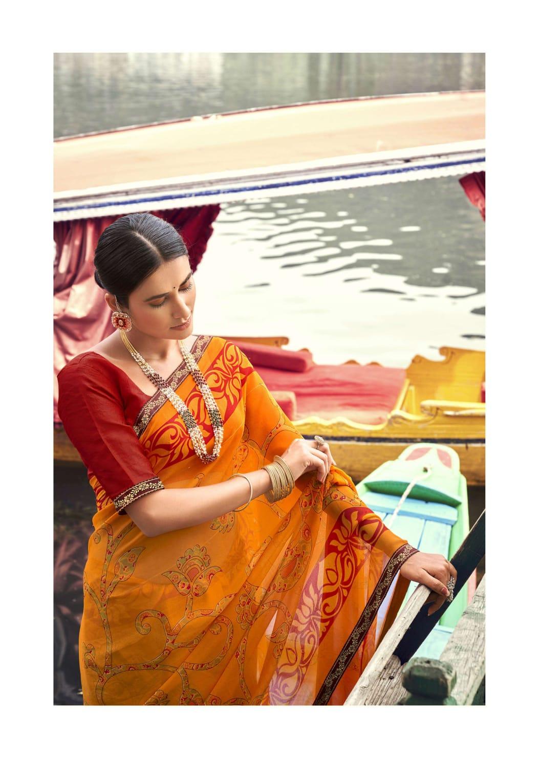 Vallabhi Prints Pallavi Sarees Catalog Lowest Price