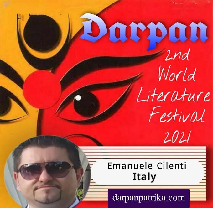 DARPAN || 2nd World Literature Festival 2021 ||   Emanuele Cilenti