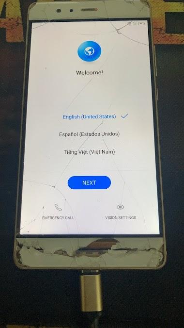 Huawei P9 EVA-L19 Remove FRP - Gmail