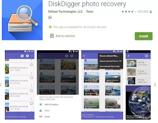 DiskDigger Photo Recovery App se Format Mobile se purani photo recover kare