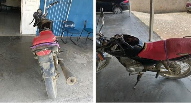ROCAM apreende moto adulterada em Pesqueira