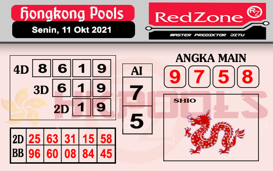 Redzone HK Senin 11 Oktober 2021 -
