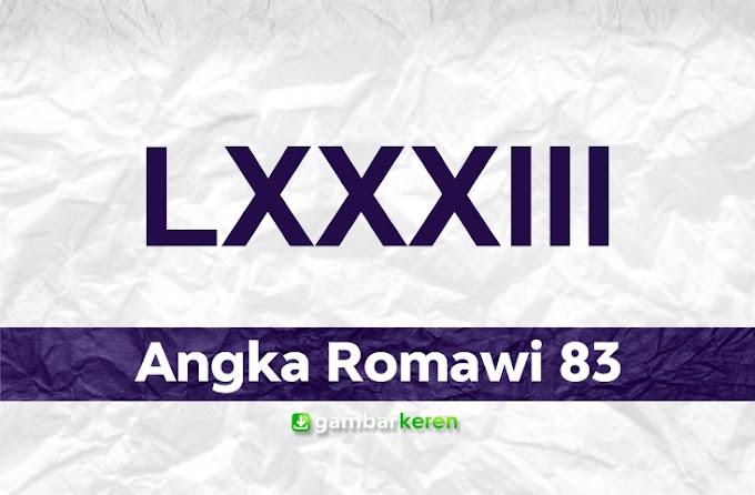 Angka Romawi 83