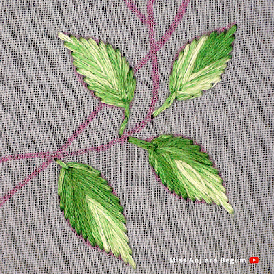 New Flower Embroidery Designs, Latest Hand Embroidery Flower Designs