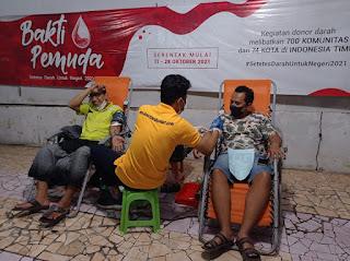 700 Komunitas Gelar Donor Darah Bertema Setetes Darah Untuk Negeri di 74 kota Indonesia Timur