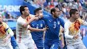 تفاصيل مباراة اسبانيا وايطاليا دوري امم اوروبا