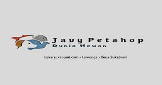 Lowongan kerja Dokter Hewan Javy Petshop Sukabumi terbaru