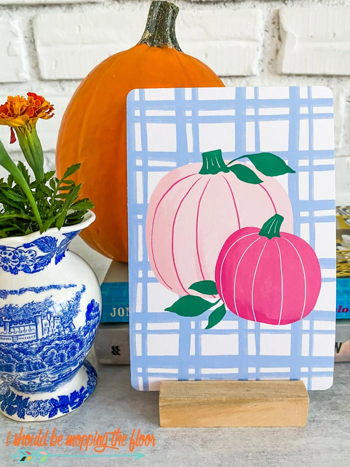 Printable Pink Pumpkins