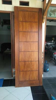 Pintu minimalis 1 pintu terbaru
