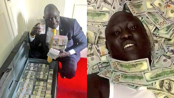 UGANDAN COURT JAILS LAWRENCE LUAL MALONG YOR JR OVER $1 MILLION GOLD SCAM