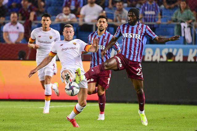 اهداف مباراة روما وطرابزون سبور (2-1) دوري المؤتمر الاوروبي