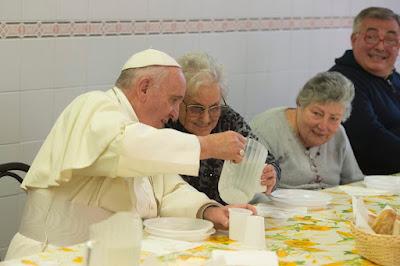 El Papa Francisco y el Evangelio de hoy Mateo 19,16-22
